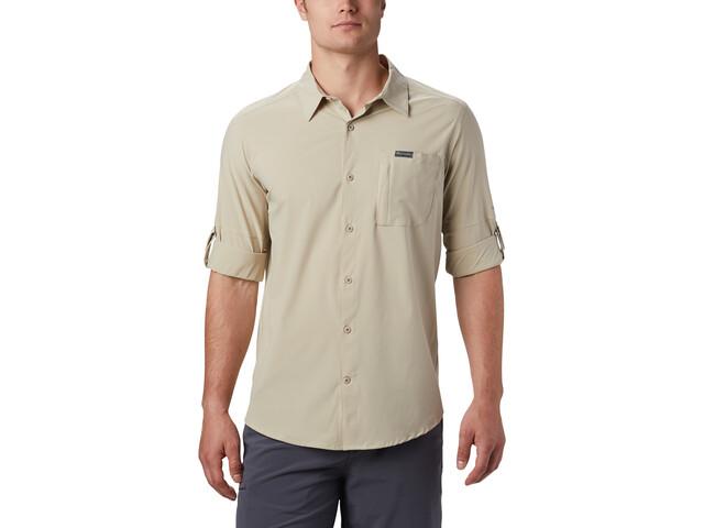 Columbia Triple Canyon Solid Camisa Manga Larga Hombre, fossil